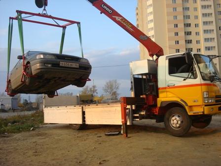Эвакуатор c манипулятором. Екатеринбург