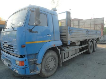 Открытый грузовик в Екатеринбурге