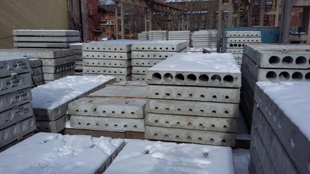 Плиты перекрытий в Екатеринбурге