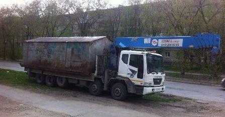 Перевозка гаража. +7 (343) 200-05-05 Екатеринбург
